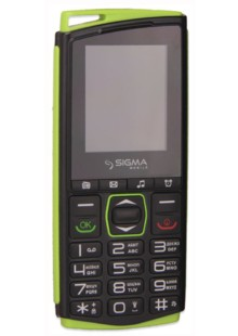 Sigma mobile Comfort 50 mini 4 black-green
