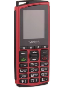 Sigma mobile Comfort 50 mini 4 red-black