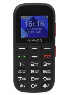 Sigma mobile Comfort 50 mini 5 black-red