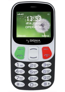 Sigma mobile Comfort 50 Retro BLACK