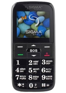 Sigma mobile Comfort 50 Slim 2 black