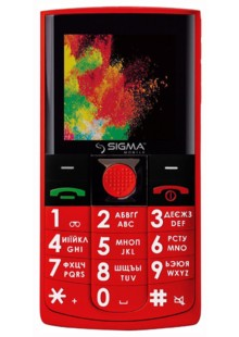 Sigma mobile Comfort 50 Solo Red