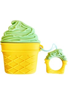 Ice Cream Case for AirPods (green)
