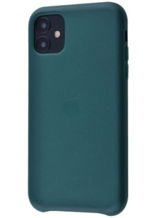 Apple Leather Case 1:1 for iPhone 11 Forest Green