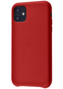 Apple Leather Case 1:1 for iPhone 11 Red