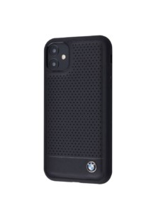 Perfo BMW Case (Leather) iPhone 11 (black)