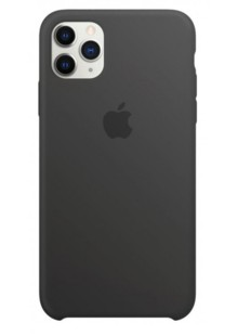 Silicone Case Full Cover iPhone 11 (charcoal gray)