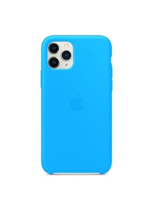Silicone Case High Copy iPhone 11 (blue)