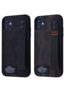 Kajsa Khaki Armor Series (Textile+TPU) iPhone 11 Pro (black)