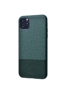 POLO Virtuoso (Textile+TPU) iPhone 11 Pro (forest green)