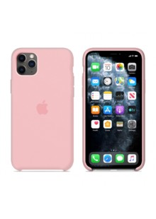 Silicone Case Full Cover iPhone 11 Pro (bright pink)