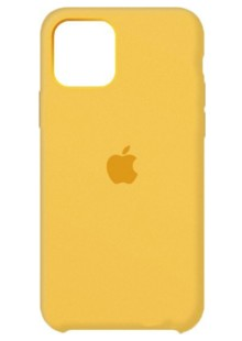 Silicone Case High Copy iPhone 11 Pro (canary yellow)
