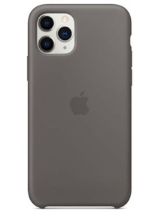 Silicone Case High Copy iPhone 11 Pro (charcoal gray)
