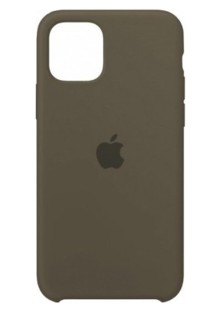 Silicone Case High Copy iPhone 11 Pro (cocoa)