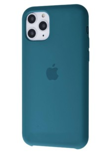 Silicone Case High Copy iPhone 11 Pro (dark olive)