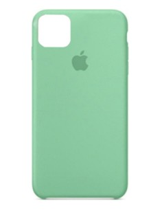 Silicone Case High Copy iPhone 11 Pro (mint gum)