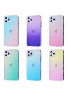 Colorful Holographic Case (Glass+TPU) iPhone 11 Pro Max