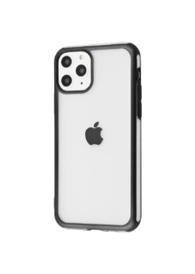 Metall Effect Apple Case (TPU) iPhone 11 Pro Max (black)