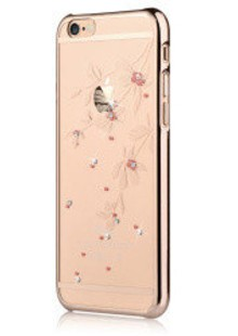 Devia Crystal Flowery for iPhone 6 Plus/6S Plus Champagne Gold