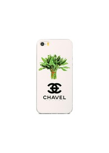 Чохол-накладка Avatti B&Z iPhone 5/5S/SE Chavel white