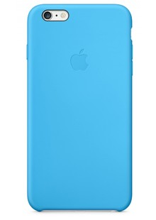 Накладка IPHONE6 Silicone case blue