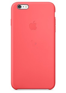 Накладка IPHONE6 Silicone case pink