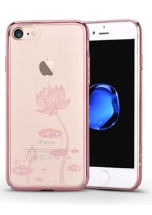 Devia Crystal Lotus for iPhone 7 Rose Gold