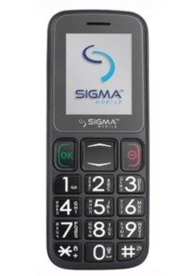 Sigma mobile Comfort 50 mini 3 grey-black