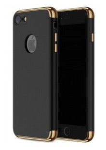 Ultra Thin Shockproof Armor hard case for iPhone 7 Black