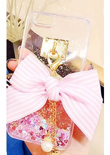 Bow with Tassel Case for iPhone 6 Pink