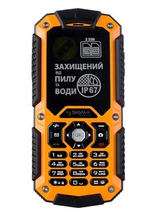 Sigma mobile X-treme IT67  black-orange