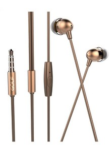 Golf M7 In-Ear Headphones Gold