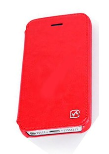 Книжка-чехол HOCO IPHONE 5C red