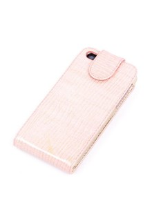 ФЛИП-чехол VALENTA iphone5 pink (06095)