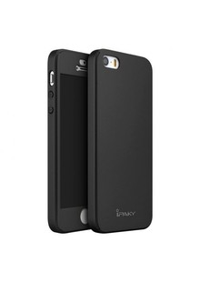 Чехол iPaky Leather Case iPhone 5 black