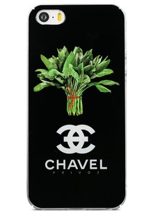 Чохол-накладка Avatti B&Z iPhone 5/5S/SE Chavel black