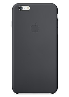 Накладка IPHONE6 Silicone case black (00-00000648)