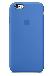 Накладка IPHONE6 Silicone case Cobalt blue