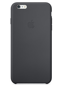 Накладка IPHONE6 Silicone case grey