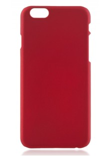 Накладка IPHONE6 Soft red