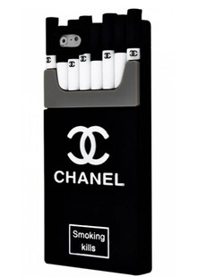 чехол-НАКЛАДКА IPHONE6 Chanel Smoking Kills