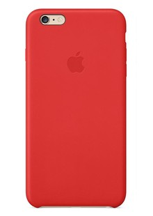 чехол-НАКЛАДКА MGQY2ZM/A IPHONE6+ LEATHER red