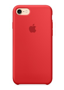 Накладка IPHONE7 Leather case red