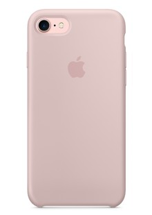 Накладка IPHONE7 Silicone case Peach