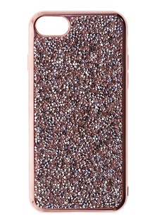 Накладка IPHONE7 TBW Rock Crystal TPU  gold
