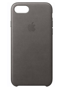 чехол-НАКЛАДКА   iPhone 7 Leather Storm Grey MMY12ZM/A