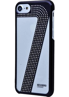 чехол-НАКЛАДКА BECKBERG Business NEW Design Science Art (PC) iPhone 7/8 (black)