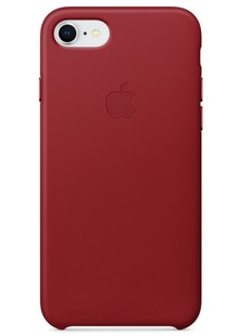 Накладка IPHONE8 Silicone case Candy Red