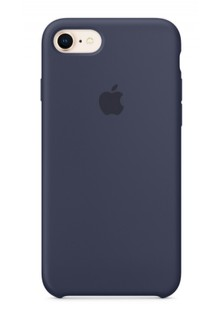 Накладка IPHONE8 Silicone case Midnight Blue