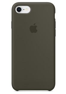 Накладка IPHONE8 Silicone case Olive Grab